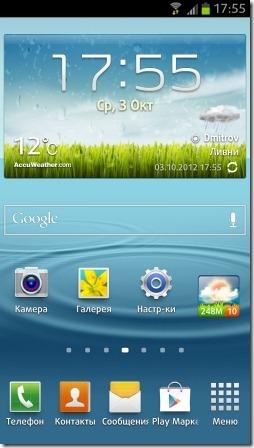 Экран Samsung Galaxy S 3
