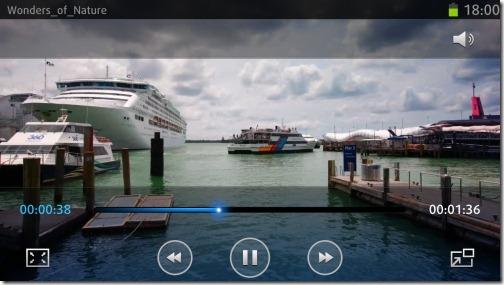 Видео в Samsung Galaxy S 3