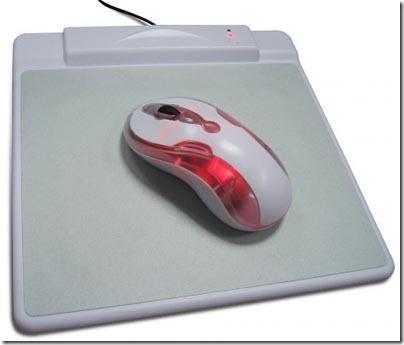 Мышь с ковриком планшетом