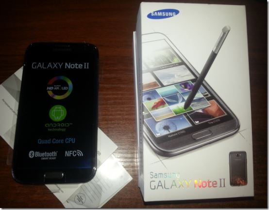 Покупка Samsung Galaxy Note 2