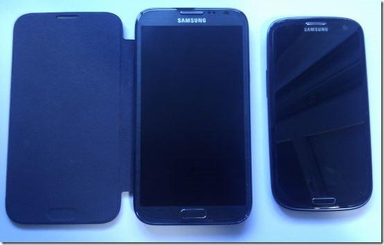 Note 2 и Galaxy S 3