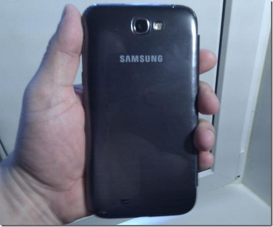 Задняя крышка флип-кейса Galaxy Note 2
