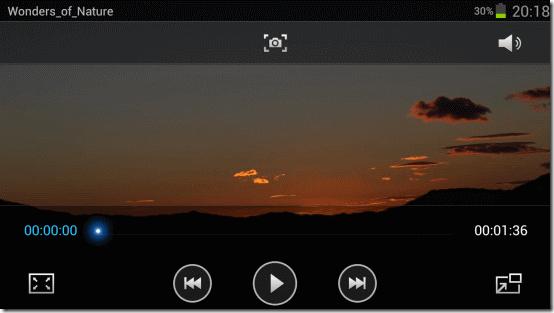 Видео-камера Galaxy Note 2