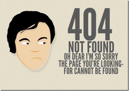 В следствие чего возникает ошибка 404 и что она означает