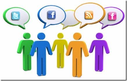 Ссылки с социальных сетей